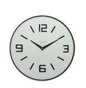 Zegar ścienny Shuwan biały - małe zdjęcie