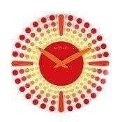 Zegar ścienny Dreamtime czerwony - małe zdjęcie