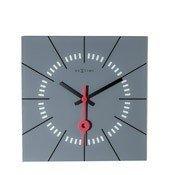Zegar ścienny Stazione szary - małe zdjęcie