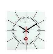 Zegar ścienny Stazione biały - małe zdjęcie