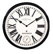 Zegar ścienny Amsterdam z sekundnikiem - zdjęcie 1