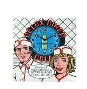 Zegar ścienny Deluxe Diner - zdjęcie 1