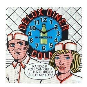 Zegar ścienny Deluxe Diner