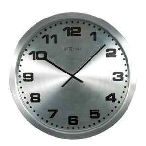 Zegar ścienny Mercure czarny