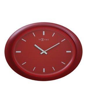Zegar ścienny owalny 2730