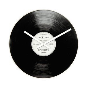 Zegar ścienny Spinning Time