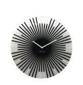 Zegar ścienny Sticks black - zdjęcie 1