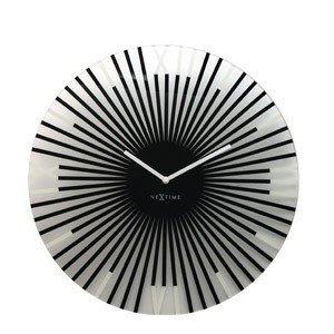 Zegar ścienny Sticks black