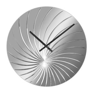 Zegar ścienny Swirled