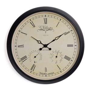 Zegar ścienny Wehlington Weather Station
