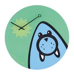 Zegar ścienny Wizky Walrus