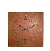 Zegar ścienny Wood Square - zdjęcie 1