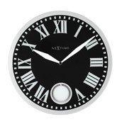 Zegar ścienny z wahadłem Romana Black - zdjęcie 1
