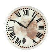Zegar ścienny z wahadłem Romana White - zdjęcie 1
