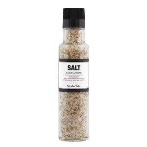 Sól z czosnkiem i tymiankiem z młynkiem Nicolas Vahe