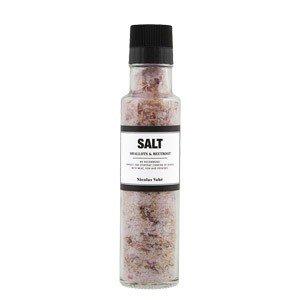 Sól z szalotkami i burakiem z młynkiem Nicolas Vahe
