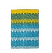 Koc Ekko żółto-niebieski - małe zdjęcie