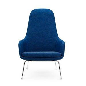 Fotel wysoki Era na stalowych nogach
