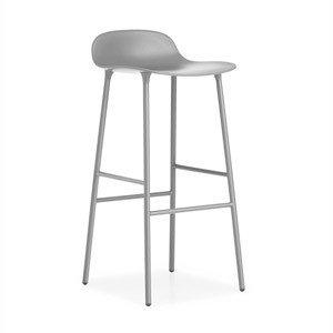Stołek barowy Form 75 cm nogi stalowe