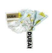 Mapa Crumpled City Dubai - małe zdjęcie