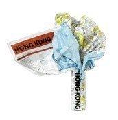 Mapa Crumpled City Hong Kong - małe zdjęcie