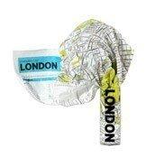 Mapa Crumpled City Londyn - małe zdjęcie