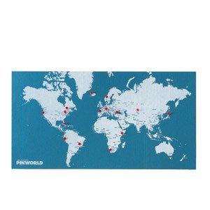 Dekoracja ścienna Pin World