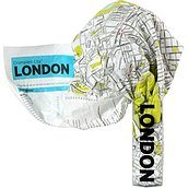 Mapa Crumpled City Londyn
