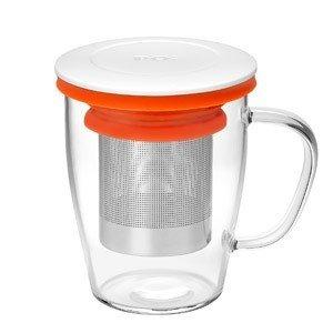 Kubek z zaparzaczem Ming szklany