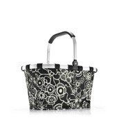 Koszyk Carrybag Fleur Black - małe zdjęcie