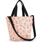 Torba Shopper XS Cats and Dogs brzoskwiniowa