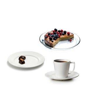 Filiżanki do kawy 6 szt. i talerzyki 19 cm 6 szt. w zest. promocyjnym