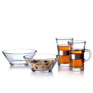 Szklanki i miseczki Grand Cru zestaw śniadanowy dla 2 osób