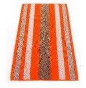 Ręcznik w szerokie pasy 100x50 cm S.Oliver pomarańczowy - małe zdjęcie