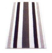 Ręcznik w szerokie pasy 100x50 cm S.Oliver odcienie czerni i szarości - małe zdjęcie