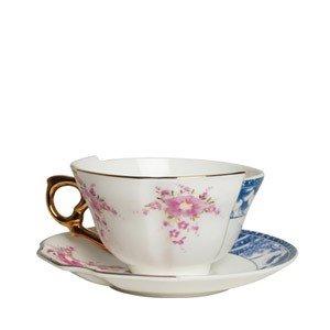 Filiżanka do herbaty ze spodkiem Zenobia