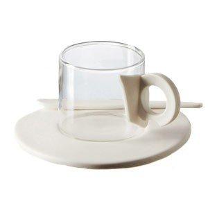 Filiżanki do kawy ze spodkami Era 6 szt.
