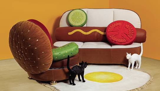 Sofa Hot Dog