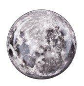 Talerz Cosmic 30 cm Moon - zdjęcie 1