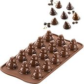 Forma do ciastek Choco Trees silikonowa