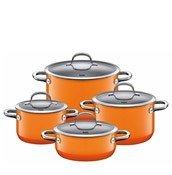 4-częściowy zestaw garnków Passion Orange - zdjęcie 1