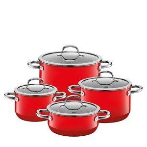 4-częściowy zestaw garnków Passion Red