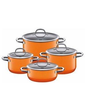 4-częściowy zestaw garnków Passion Orange