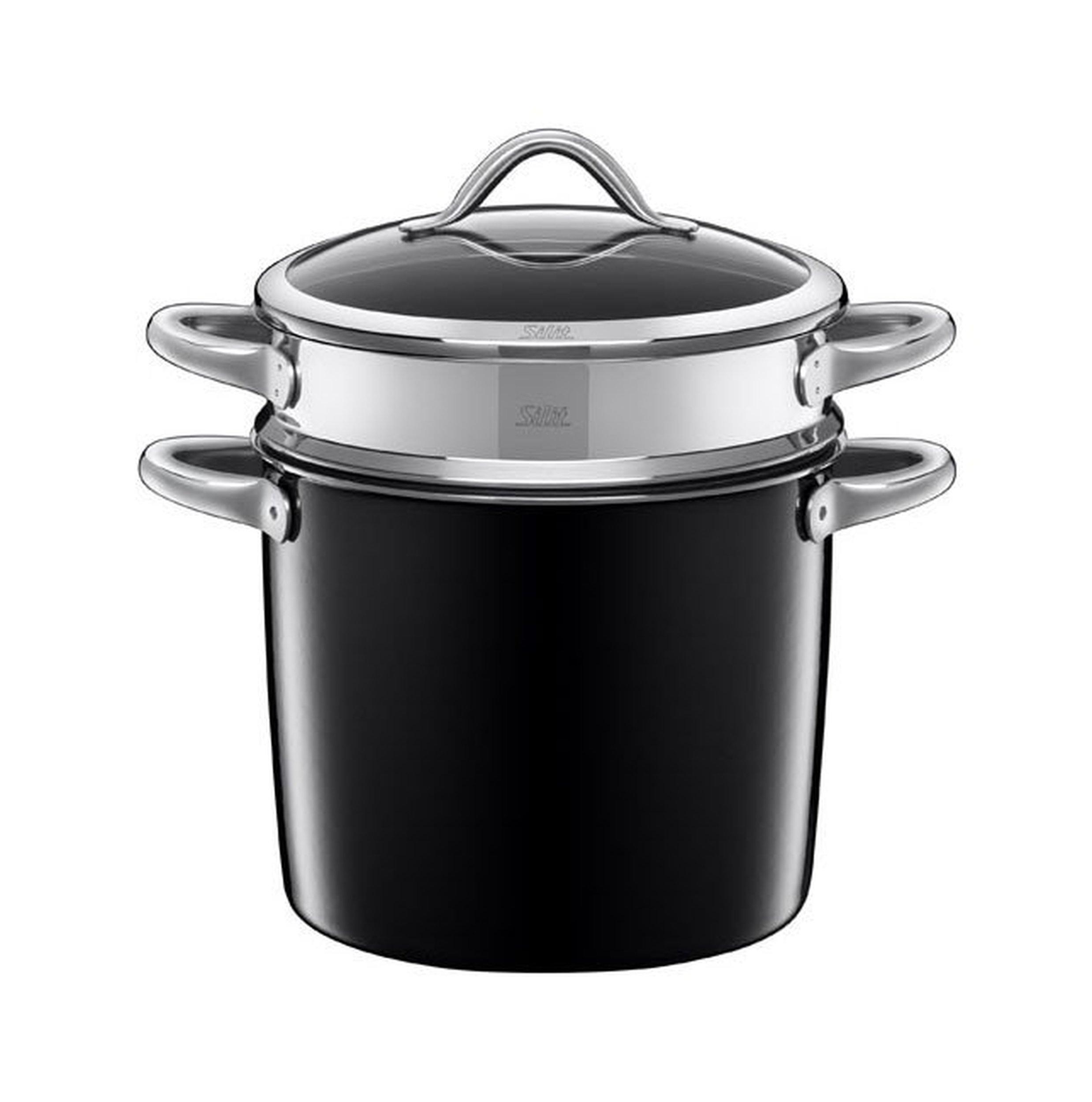 garnek do gotowania makaronu vitaliano nero silit. Black Bedroom Furniture Sets. Home Design Ideas