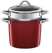 Garnek do gotowania makaronu Vitaliano Rosso - zdjęcie 1