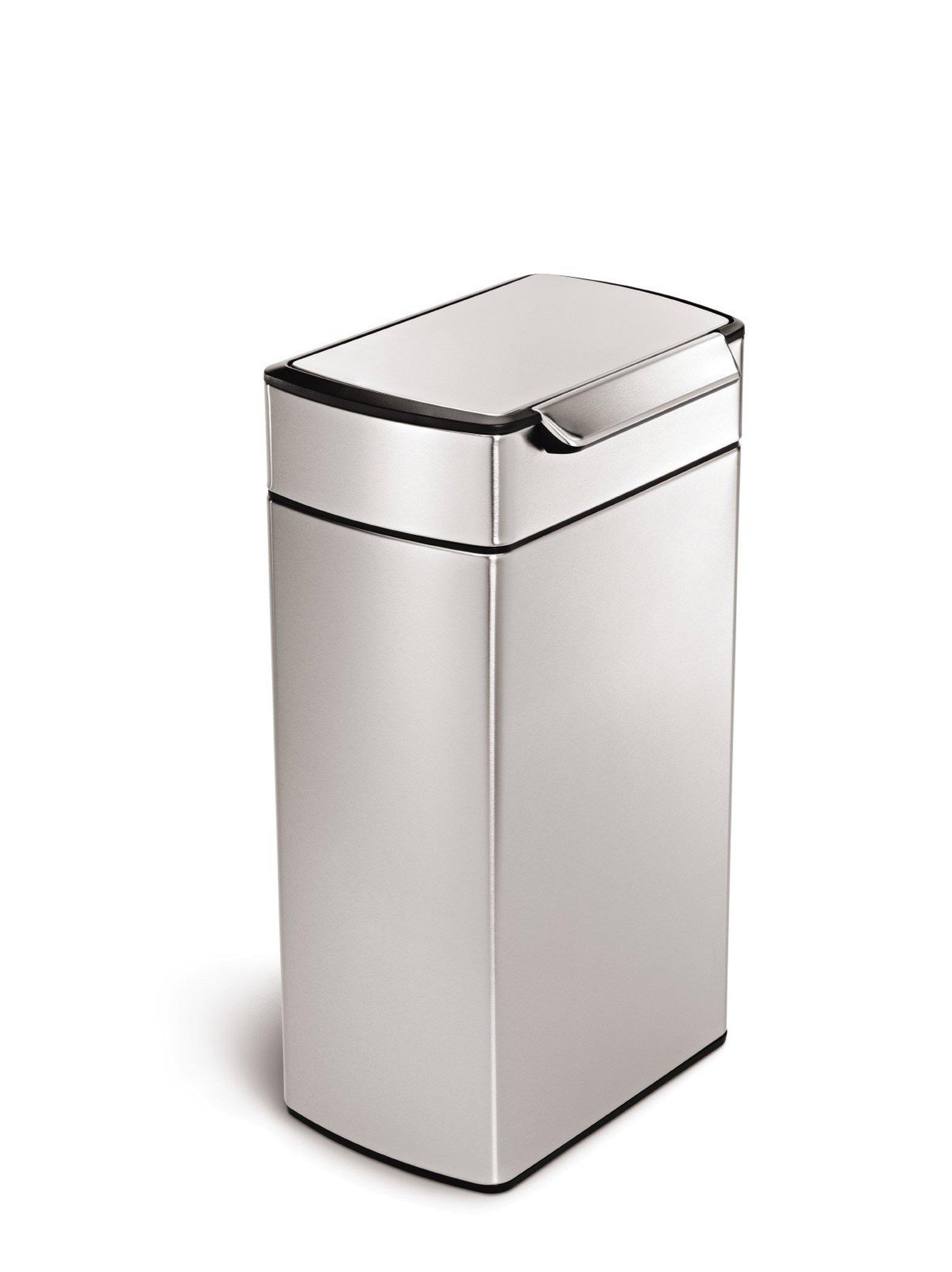 Kosz na mieci touch bar simplehuman - Poubelle de cuisine automatique 30 litres ...
