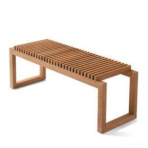 Ławka Cutter drewno tekowe