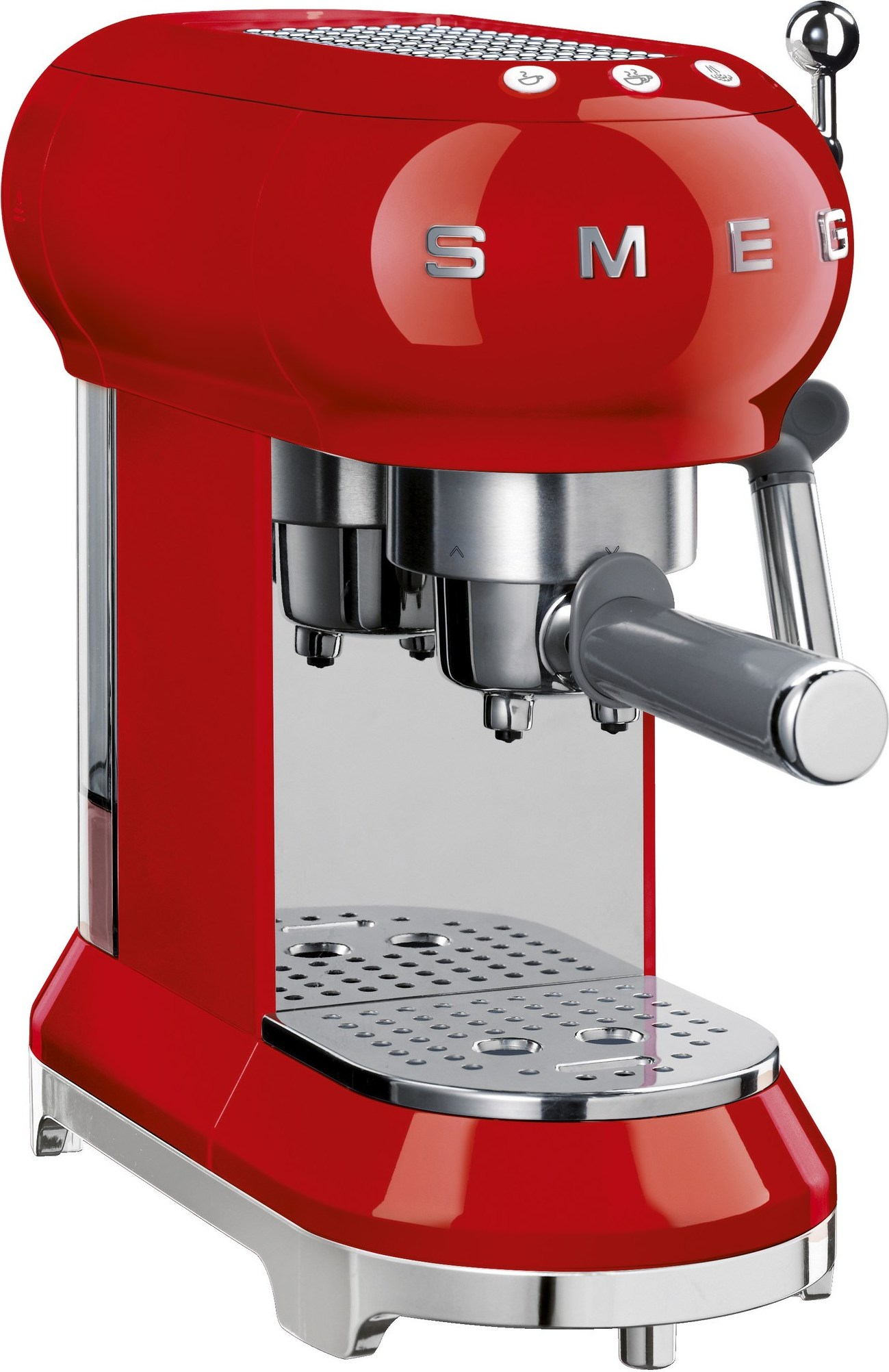 ekspres do kawy 50 39 s style czerwony smeg ecf01rdeu. Black Bedroom Furniture Sets. Home Design Ideas