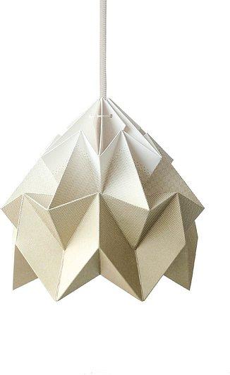 Lampa Moth gradient gold