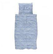 Pościel Twirre 135 x 200 cm niebieska - małe zdjęcie